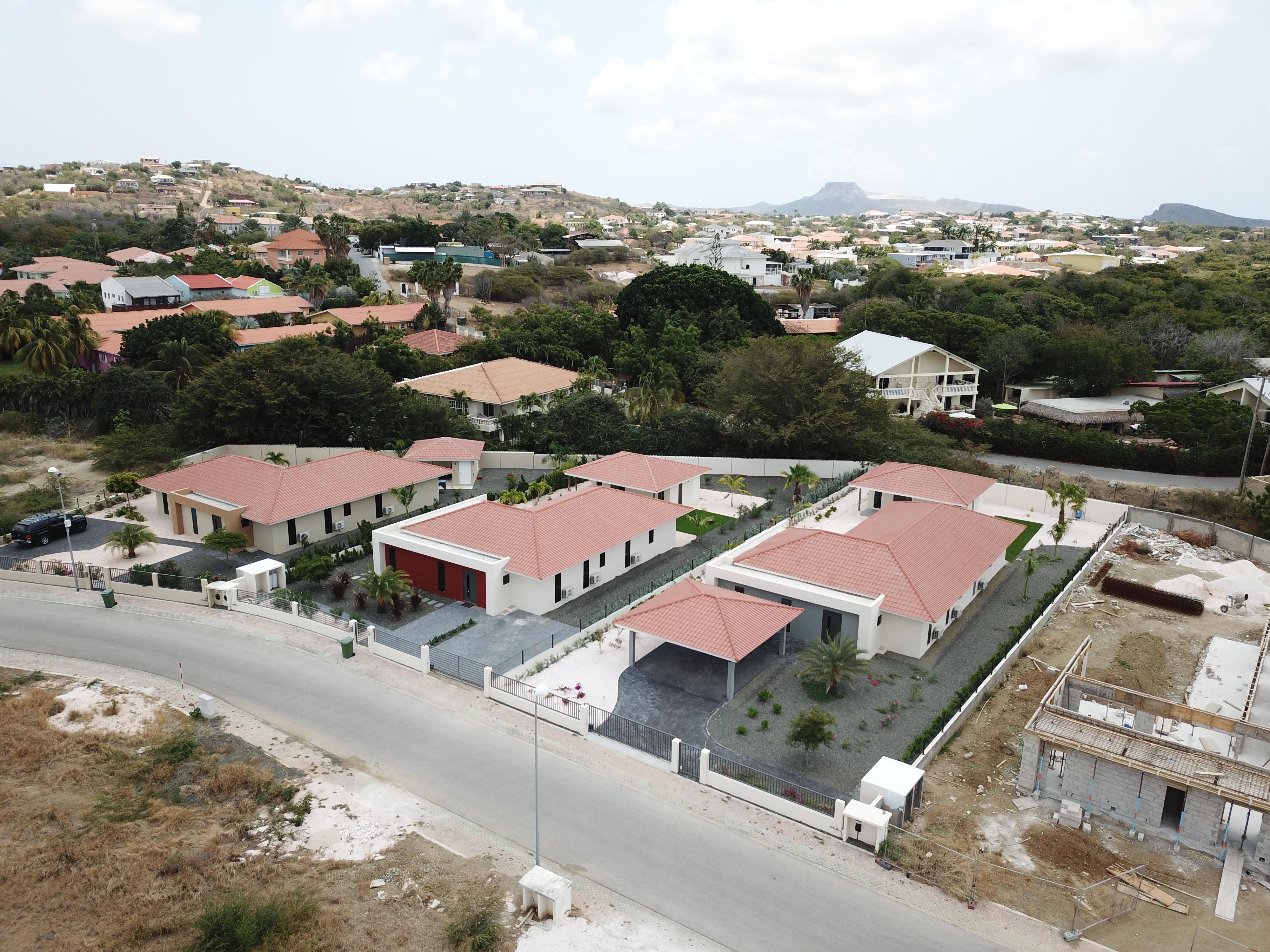 Zuurzak Villas Curacao - Nieuwbouw project van 8 woningen op